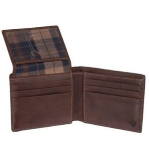 Columbia Bags - Men's Brown Leather Columbia Wallet